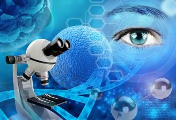 Лечение дистрофии сетчатки глаза стволовыми клетками